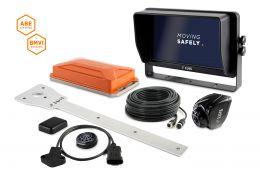 "LUIS TURN DETECT® BMVI 10"" quad monitor for municipal vehicles"