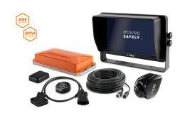 "LUIS TURN DETECT® BMVI 10"" quad monitor, steering angle"