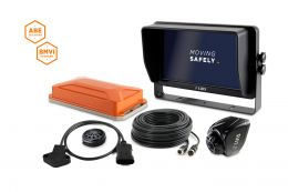 """LUIS TURN DETECT® BMVI 10"""" quad monitor, steering angle without GPS"""