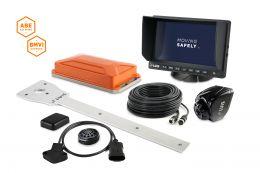 "LUIS TURN DETECT® BMVI 7"" monitor for municipal vehicles"