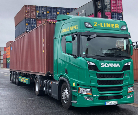 'Zippel truck with LUIS turn assistant,' source: LUIS Technology